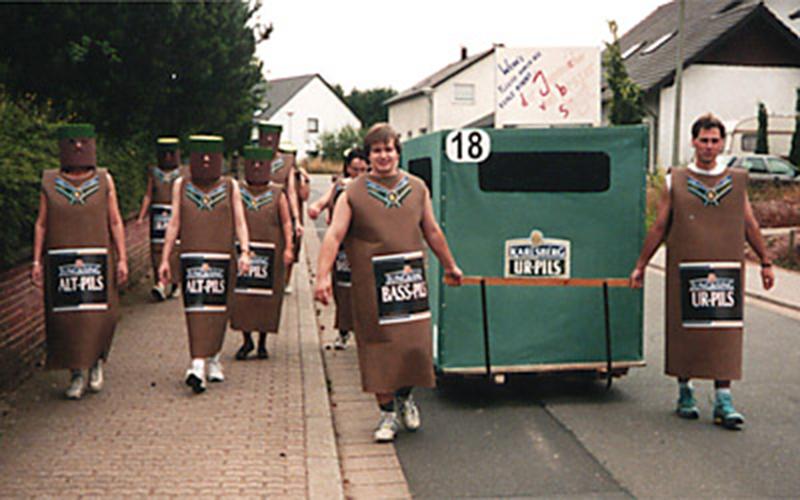 1994: Die Flaschen von Jung & Sing