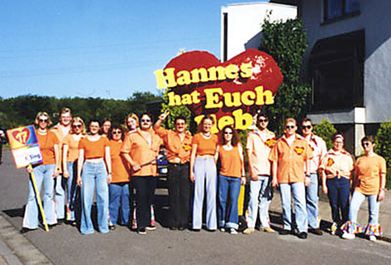 1998: Hannes hat Euch lieb!