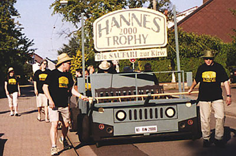 2000: Hannes Trophy – Die Saufari zur Kirw