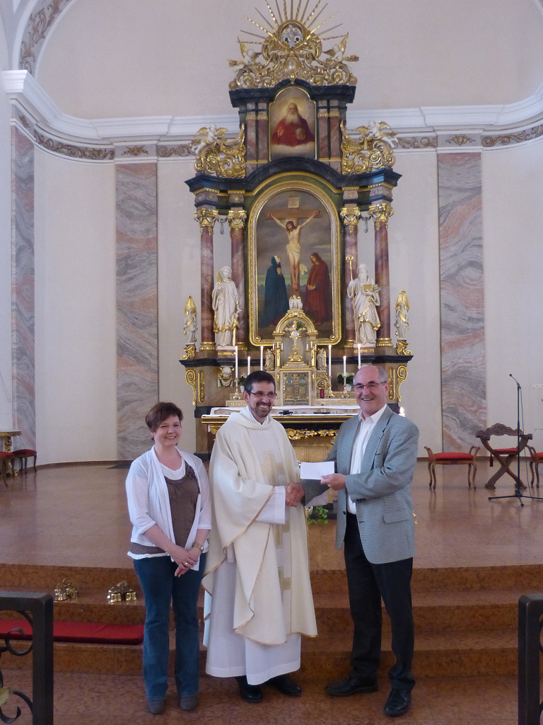 1000 EUR für die Hülzweiler Kirche