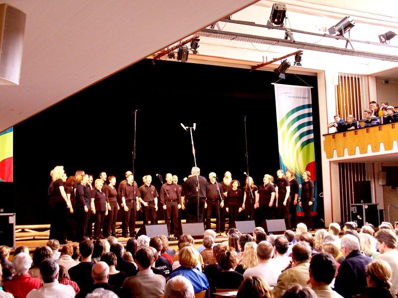 Erfolgreiche Teilnahme am deutschen Chorwettbewerb