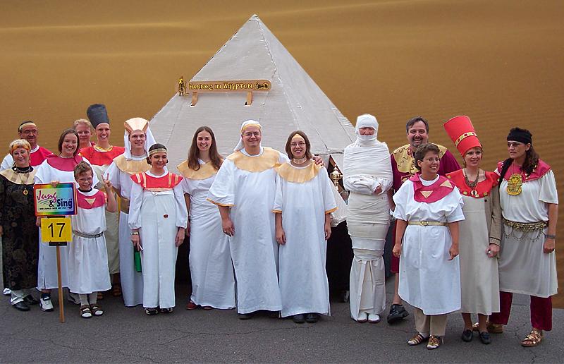 2006: Hannes in Ägypten