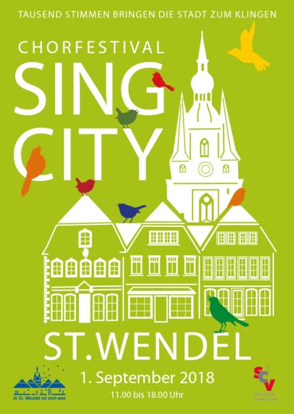Jung & Sing am 01.09. bei SING CITY
