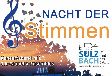 09.11.19: Jung & Sing bei der Nacht der Stimmen in Sulzbach
